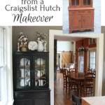 7 Lessons I learned from a craigslist hutch makeover - Life on Kaydeross Creek