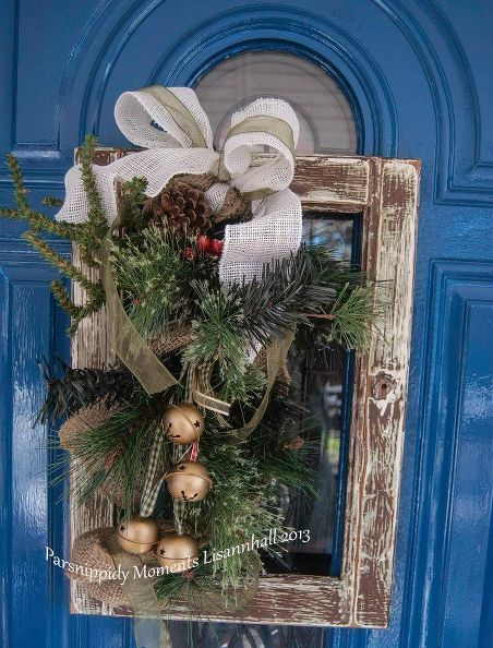 20 Alternatives to a Wreath for Fall and Winter - with jingle bells - Life on Kaydeross Creek