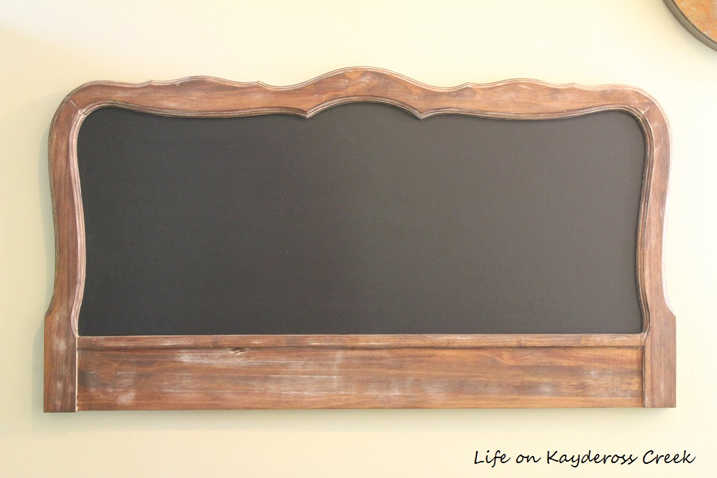 How to make a unique farmhouse chalkboard - Life on Kaydeross Creek