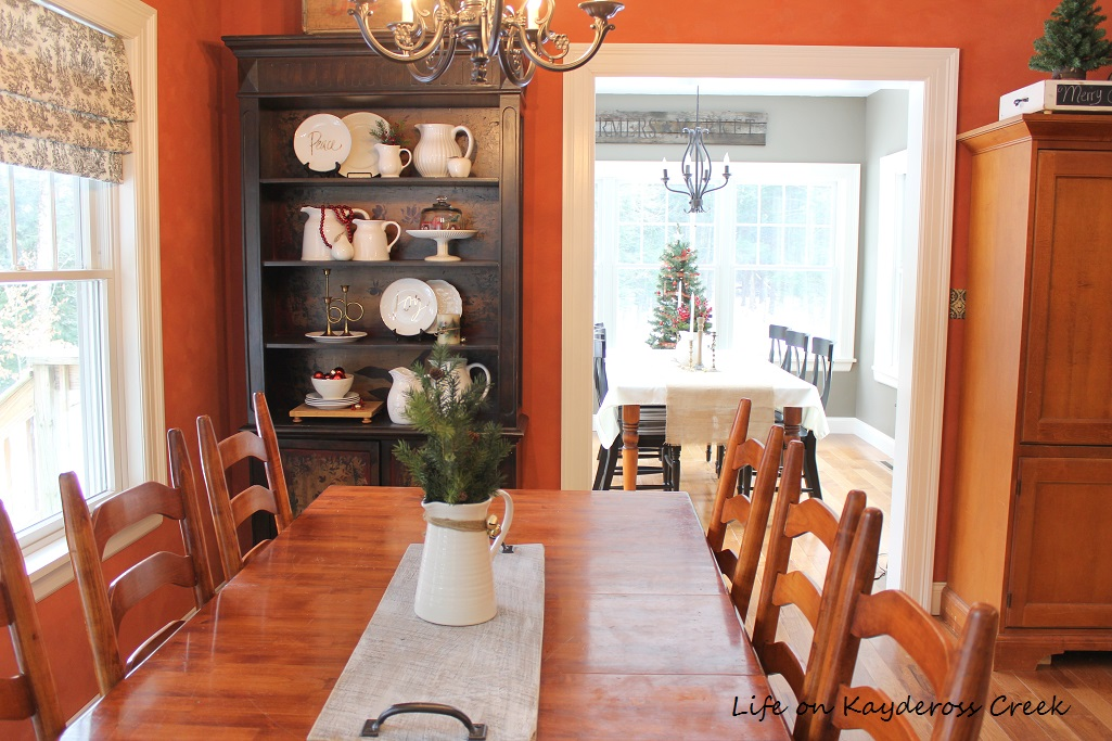 Classic Christmas Home Tour part 2 - Kitchen - farmhouse christmas - Life on Kaydeross Creek
