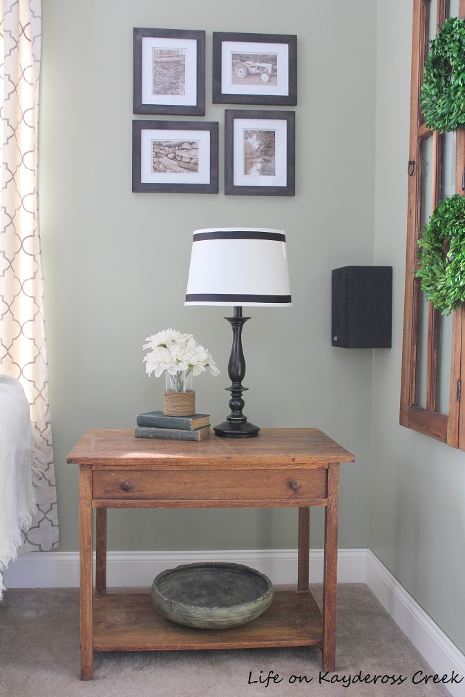 $100 Room Challenge - new lighting - budget friendly lighting - new lamp - farmhouse - Life on Kaydeross Creek