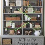 10 Tips For Decorating Shelves Like a Pro
