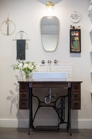 25 Unique Bathroom Vanities Made From Furniture Life On
