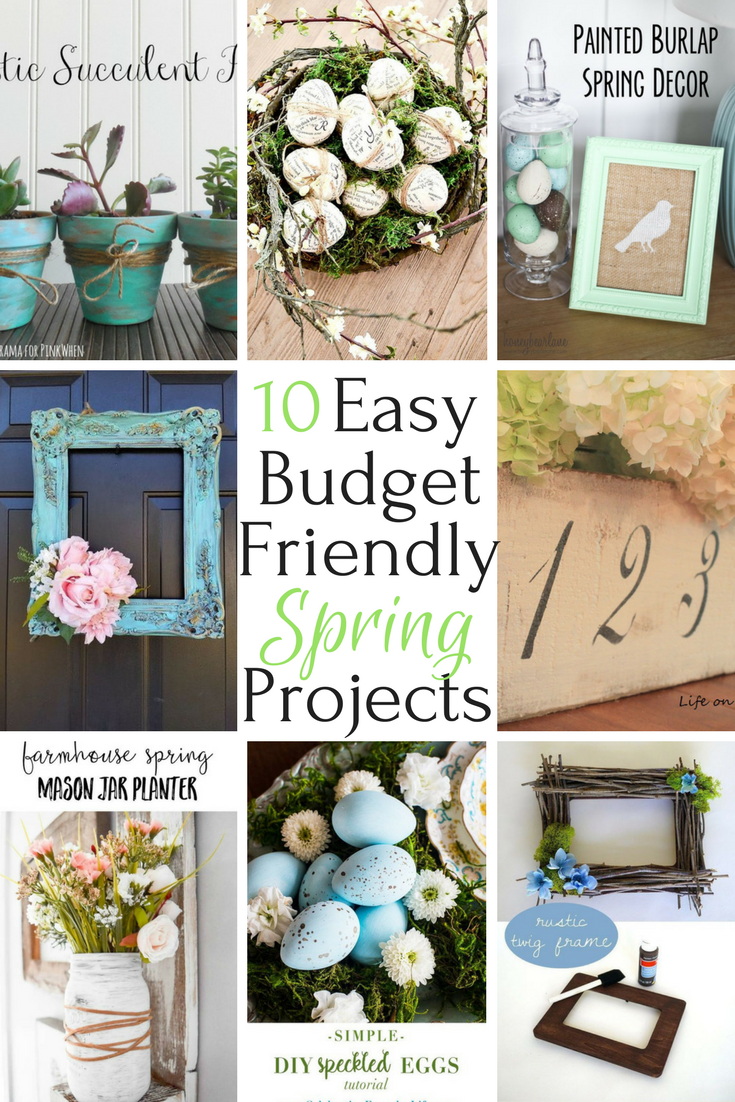 Easy Budget Friendly Spring Decorating: Colleen, Author At Life On Kaydeross Creek