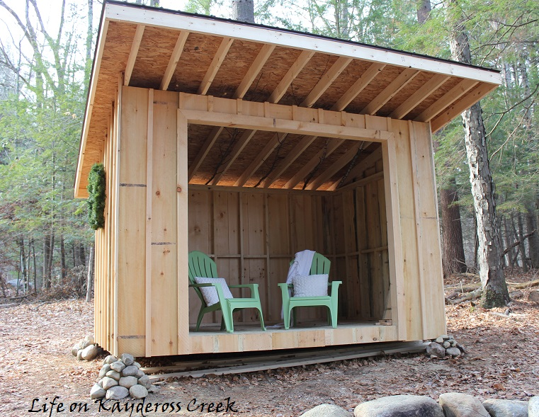 the other side of the bridge how to build a lean to. Black Bedroom Furniture Sets. Home Design Ideas