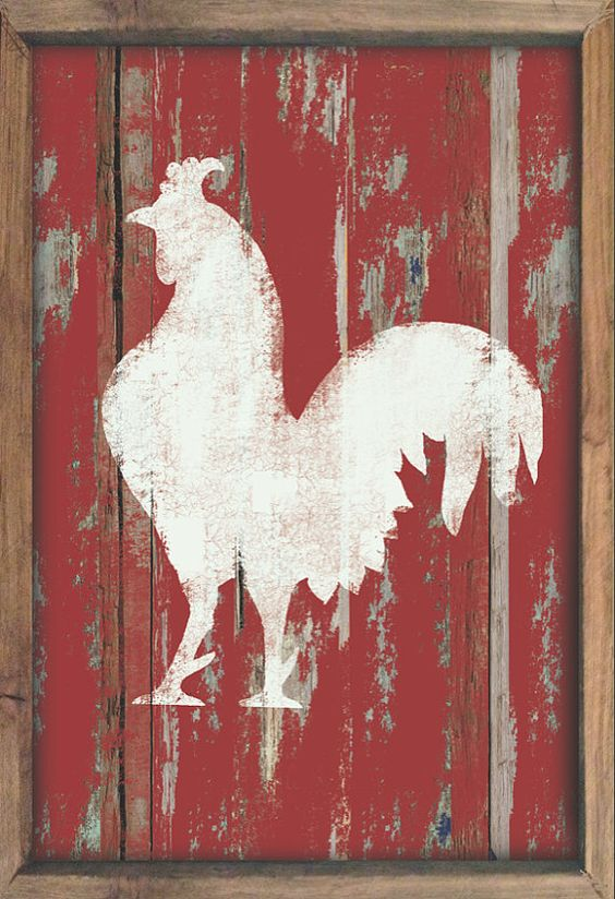 Country Chicken Kitchen Decor