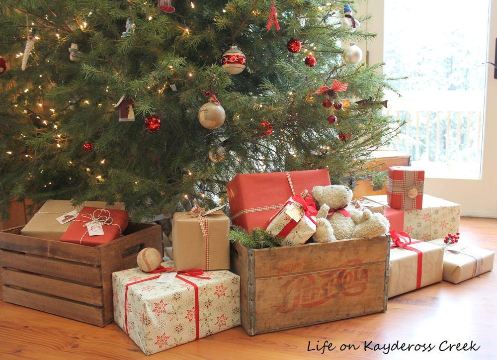 Christmas Presents Under The Tree Farmhouse Christmas Tour Life On