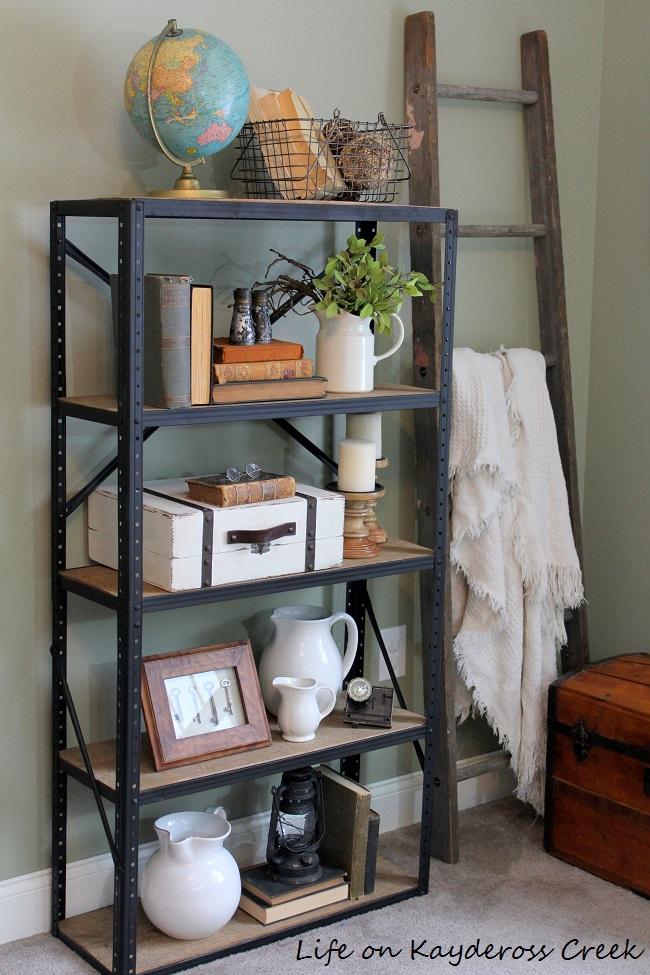 10 Tips For Decorating Shelves Like a Pro - Life on Kaydeross Creek