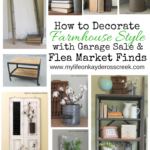 Decorating with Flea Market Finds - Life on Kaydeross Creek