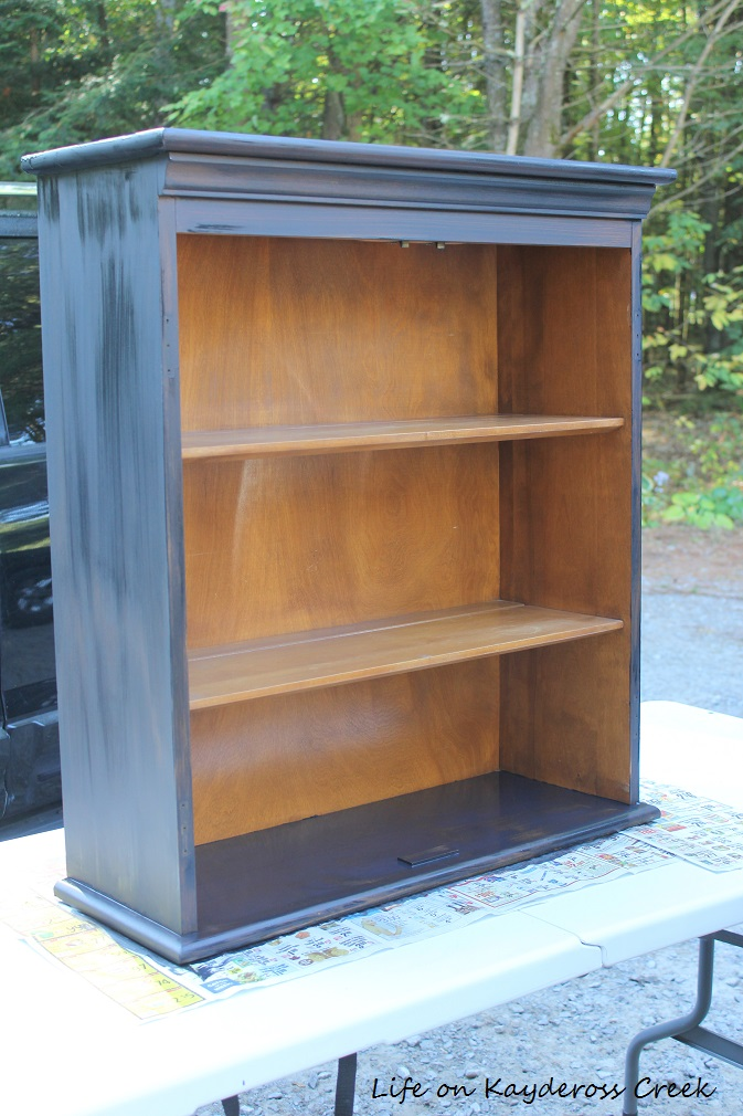 7 lessons i learned from a craigslist hutch makeover - When is it too cold to paint ...