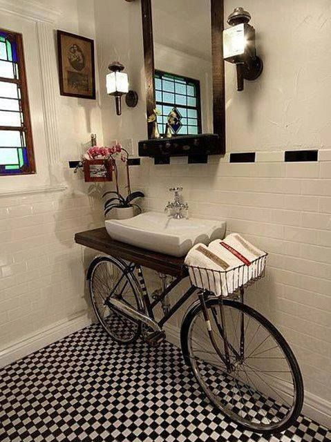 Bathroom Vanities Made From Furniture
