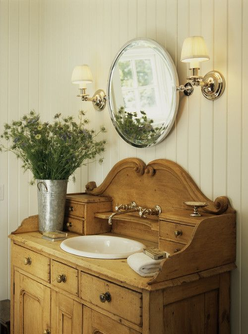 detailed look df730 e98cc 25 Unique Bathroom Vanities Made From Furniture - Life on ...