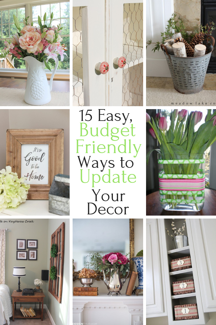 15 easy ways to update your decor and home on a budget - Home decor on a budget ...