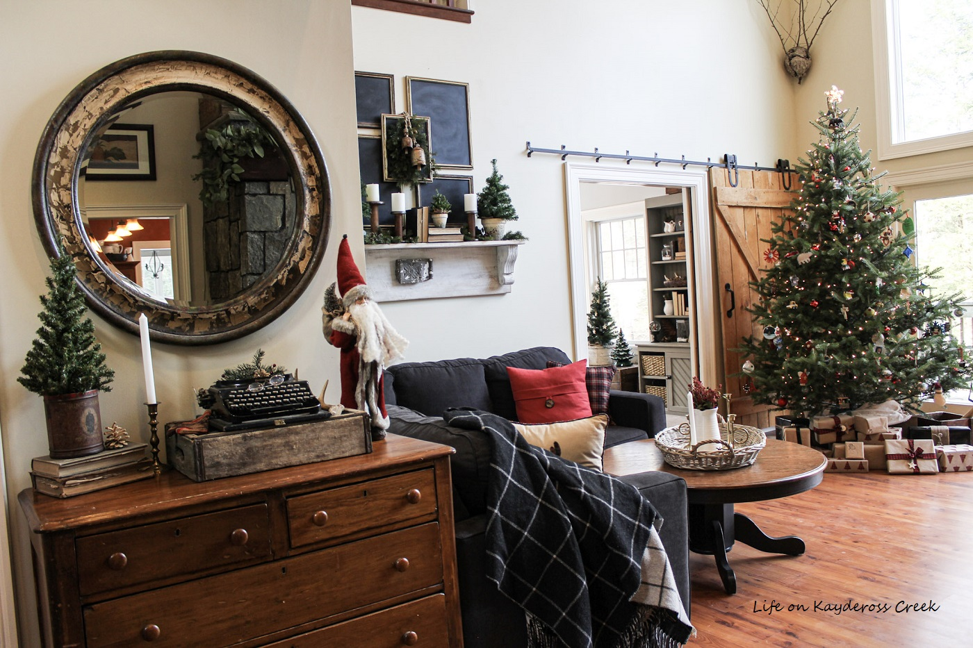 Rustic Christmas Home Decor Ideas & DIY Decorations - Life ...